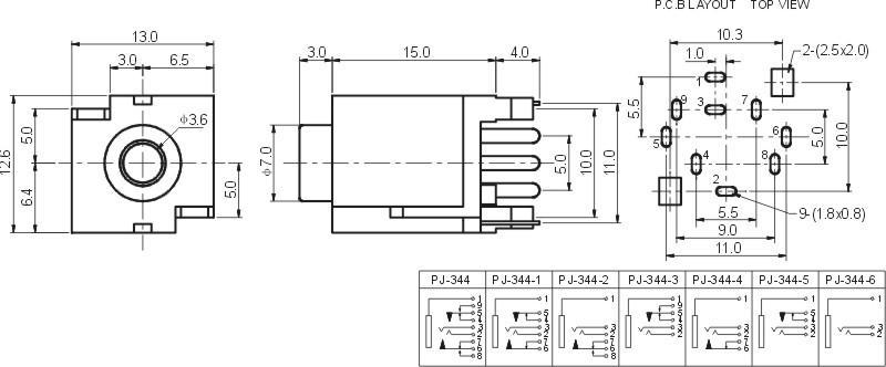 功率测量插座电路图